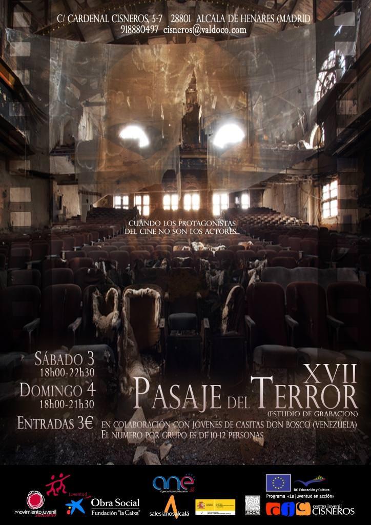 Inscripciones Pasaje del Terror (Alcalá de Henares)