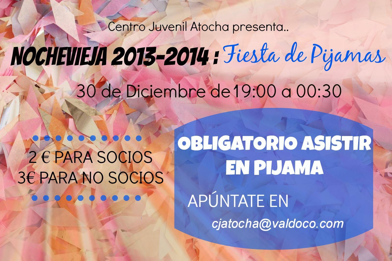Autorización Fiesta Nochevieja 30/12