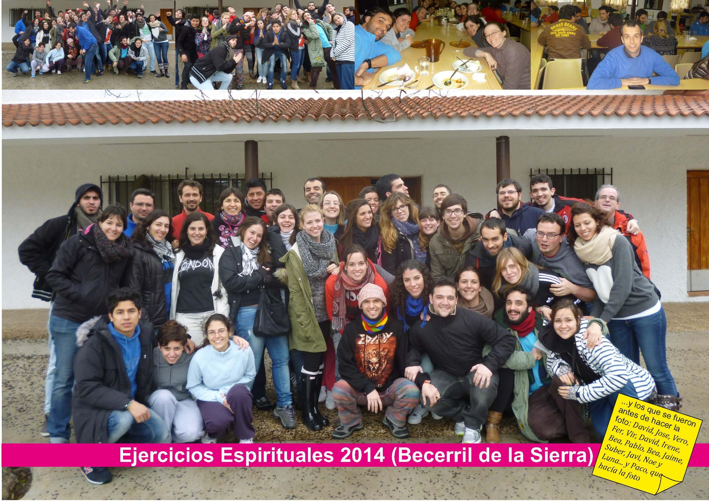 Ejercicios Espirituales 2014