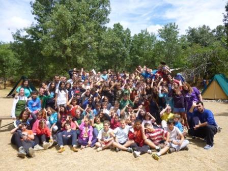 Calentando MOTORES!!! Video Lipdub campamento Oratorio 2013…