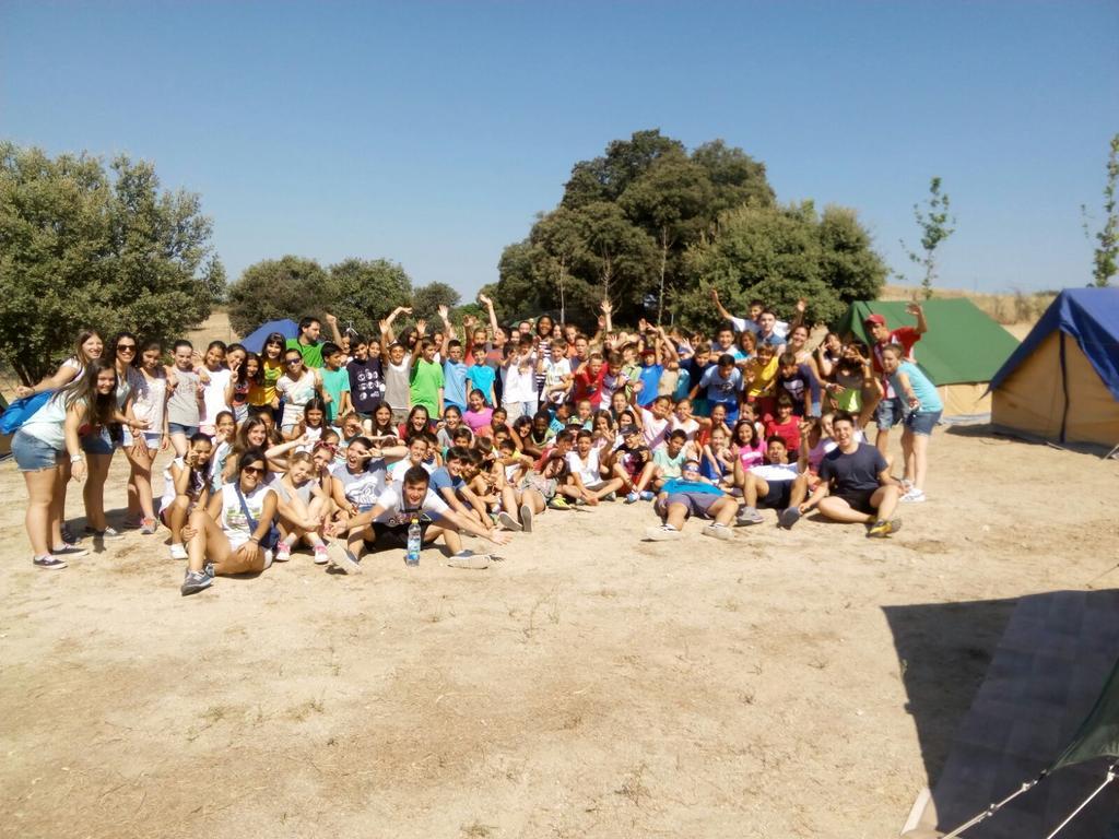Campamento Oratorio 2015 (Sevilla la Nueva)