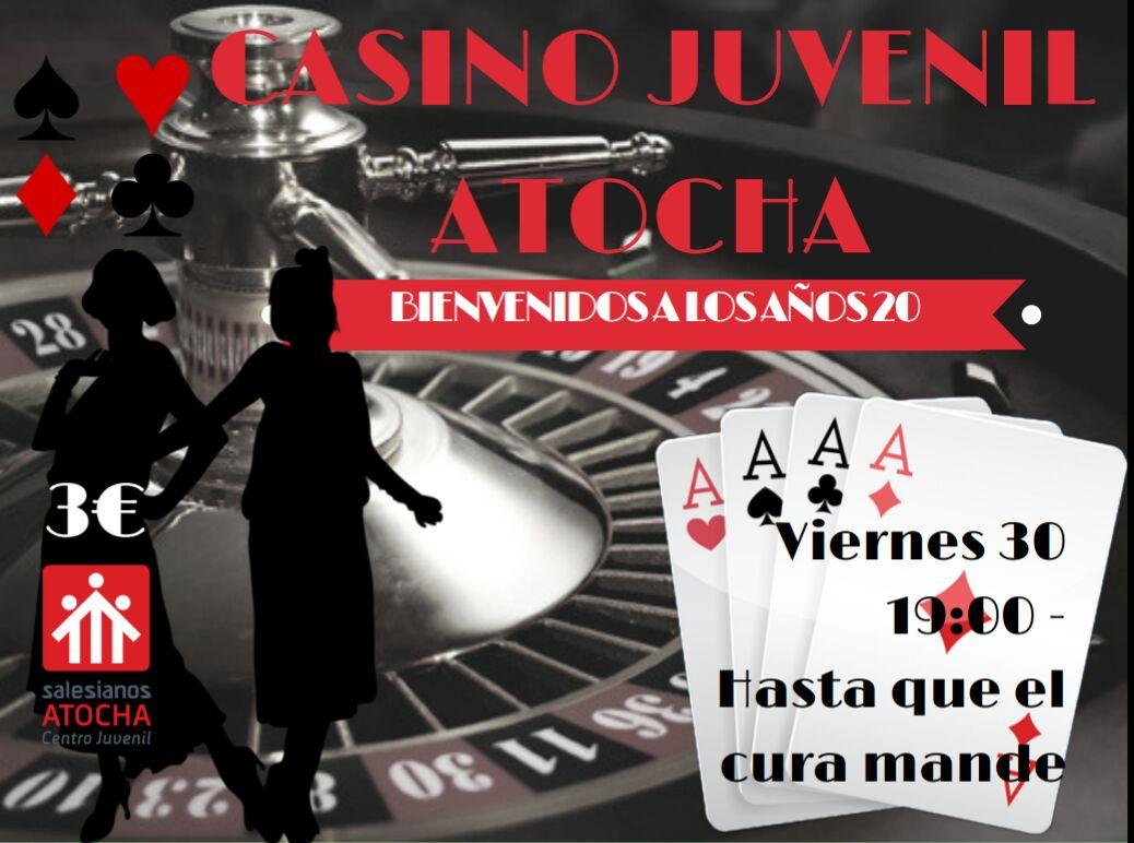 """FIESTA """"Casino Años'20"""""""